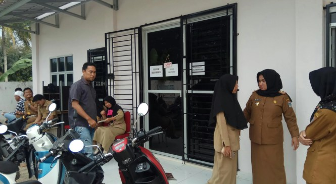 Diduga Ajudan Bupati Muratara Intervensi Pokja, Kontraktor Segel Kantor ULP