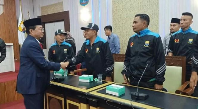 Fachrori Minta Kontingen Provinsi Jambi Berikan yang Terbaik