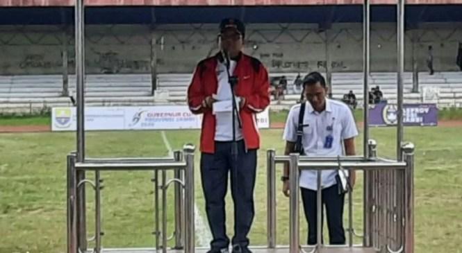 Pj. Sekda Provinsi Jambi : Gubernur Cup Ajang Penjaringan Bibit Baru