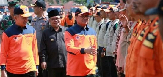Gubernur Fachrori : Provinsi Jambi Tingkatkan Kesiapsiagaan Hadapi Bencana