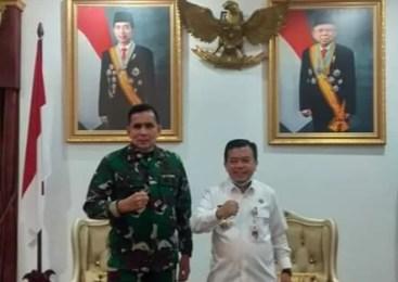 Pangdam II Sriwijaya Mayjen Irwan Kunjungi Kabupaten Merangin.