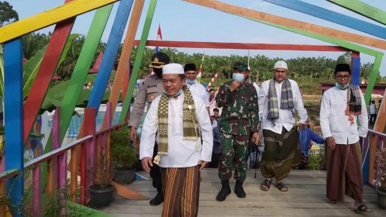 Al Haris Resmikan Taman Edukasi Desa Tanjung Benuang