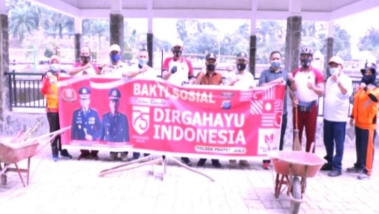 Bupati dan Polres Asahan Lakukan Bakti Sosial untuk Menyambut 75 Tahun Dirgahayu Indonesia