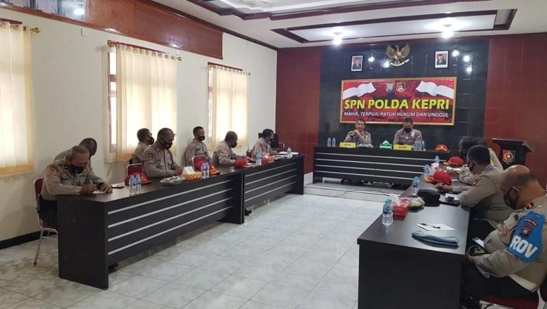 Tim Supervisi Lemdiklat Polri Cek Kesiapan Prokes Di SPN Polda Kepri