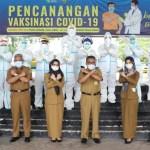 Hari Pertama Masuk Kerja Usai Libur Lebaran, Pegawai Jalani Tes Antigen<br>