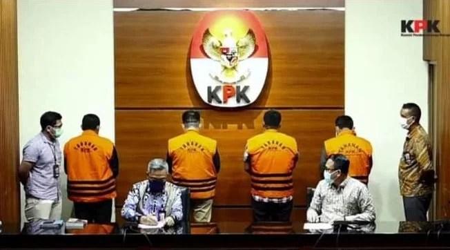 KPK Kembali Tahan 4 Orang Mantan Anggota DPRD Provinsi Jambi