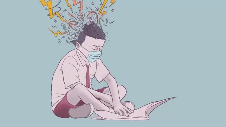 Kualitas Pengetahuan Pelajar Menurun Saat Belajar Lewat Daring