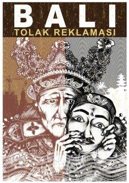 Bali Tolak Reklamasi (Artwork oleh Made Suniantara & Alex Gede)