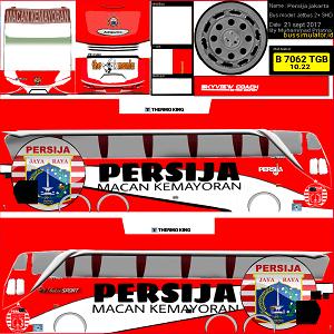 Download Livery Bus Persija SHD