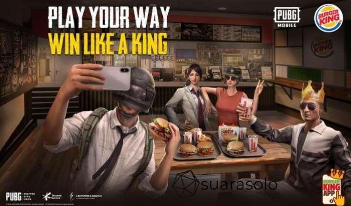 Event PUBG Burger King