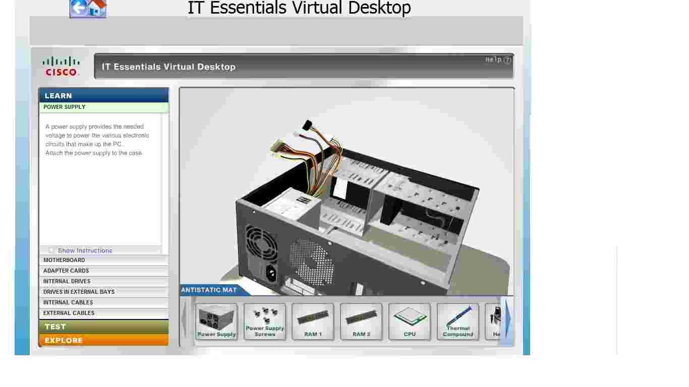 Cisco IT Essentials Virtual Desktop Download