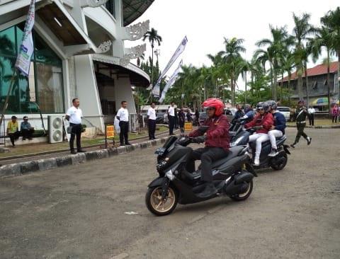 Menhub 'Kampanye' di Banjarmasin.