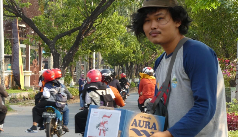 Pecinta Alam Kalsel Galang Dana untuk Donggala dan Palu