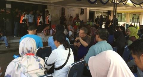 87 Kelurga Korban Datangi Krisis Center Kecelakaan Lion Air