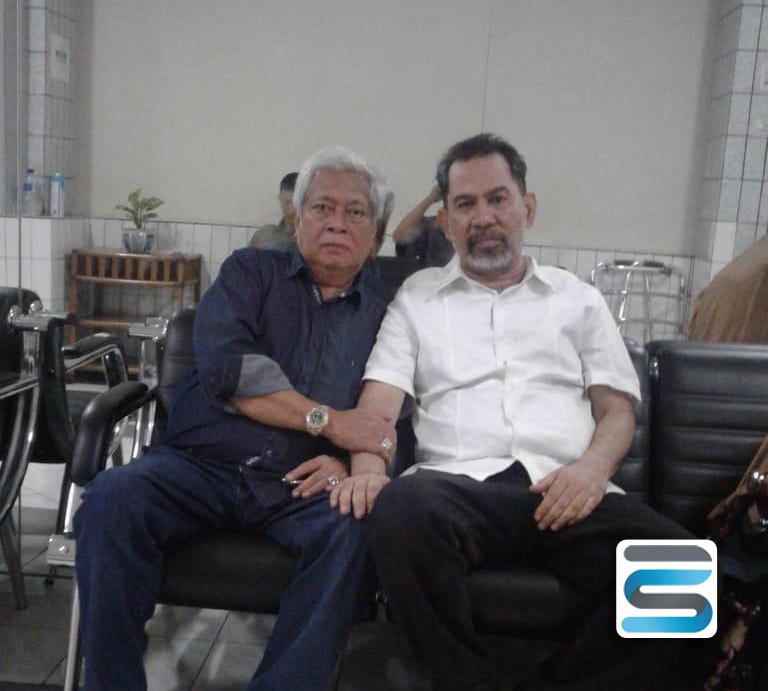 H Aliansyah Jenguk Sang Sahabat Abdul Latif