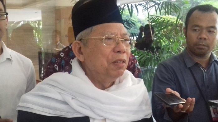 Ma'ruf Amin: Orang Sehat Bisa Lihat Prestasi Jokowi-JK, Kecuali Orang 'Buta' dan 'Budek'