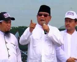 Prabowo Geram Media 'Manipulasi' Jumlah Massa Reuni Akbar 212