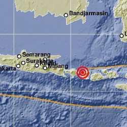 Gempa Guncang Lombok, Terasa sampai Bali