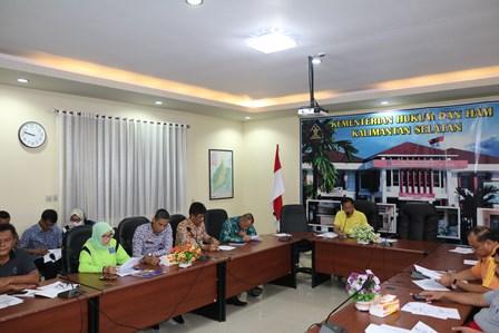 Kemenkumham Kalsel Siap Sambut Kunker Komisi III DPR RI