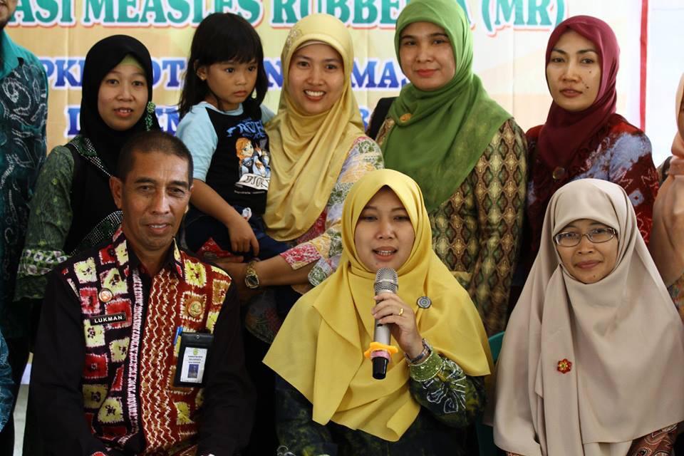 Dua Warga Kelayan Jadi Duta Imunisasi MR, Diminta Gencar Sosialisasi