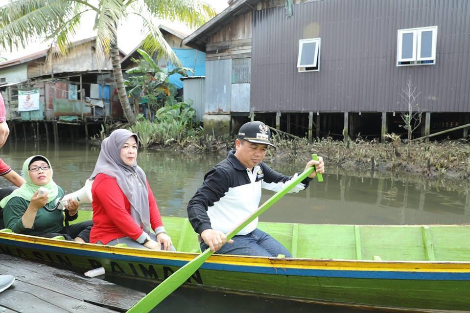 Walikota 'Babarasih' di Sungai PHB dan Pelambuan