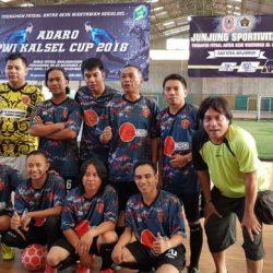Libas Pesaing, Tim Futsal Desk Polda Kalsel ke Final