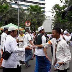 Ketua MPR dan Ketua Timses Prabowo-Sandi sudah Hadir di Reuni 212