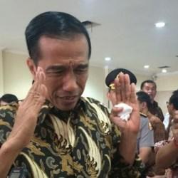 Soal Spanduk #JokowiBersamaPKI, Jokowi: Sabar, Sabar, Sabar