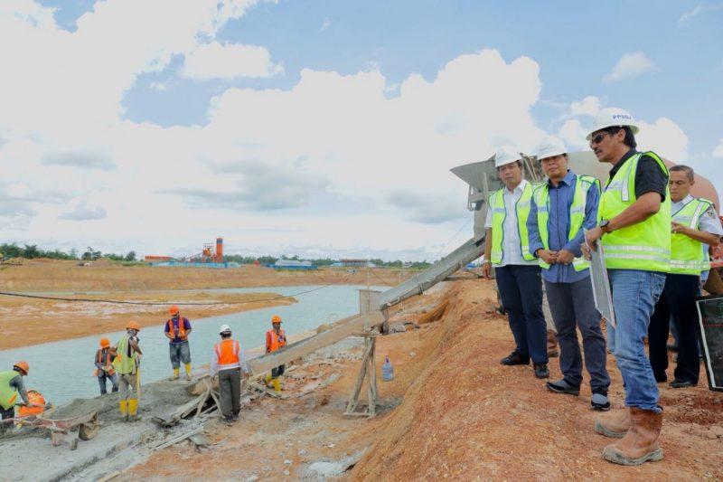 Progres Pembangunan Bandara Sudah 44,77 Persen