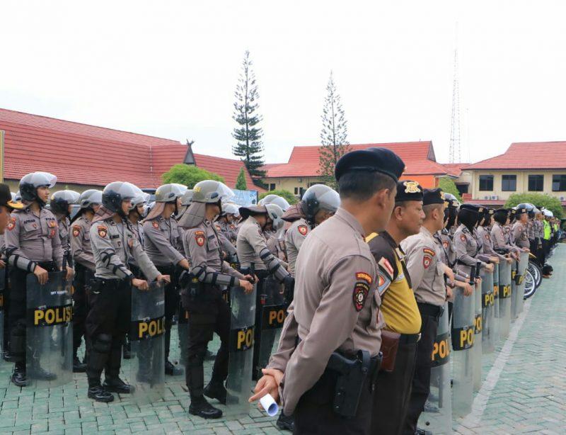 Lima Wilayah di Kalsel Didatangi  KH Ma' ruf Amin, Ratusan Polisi Dikerahkan Pengamanan