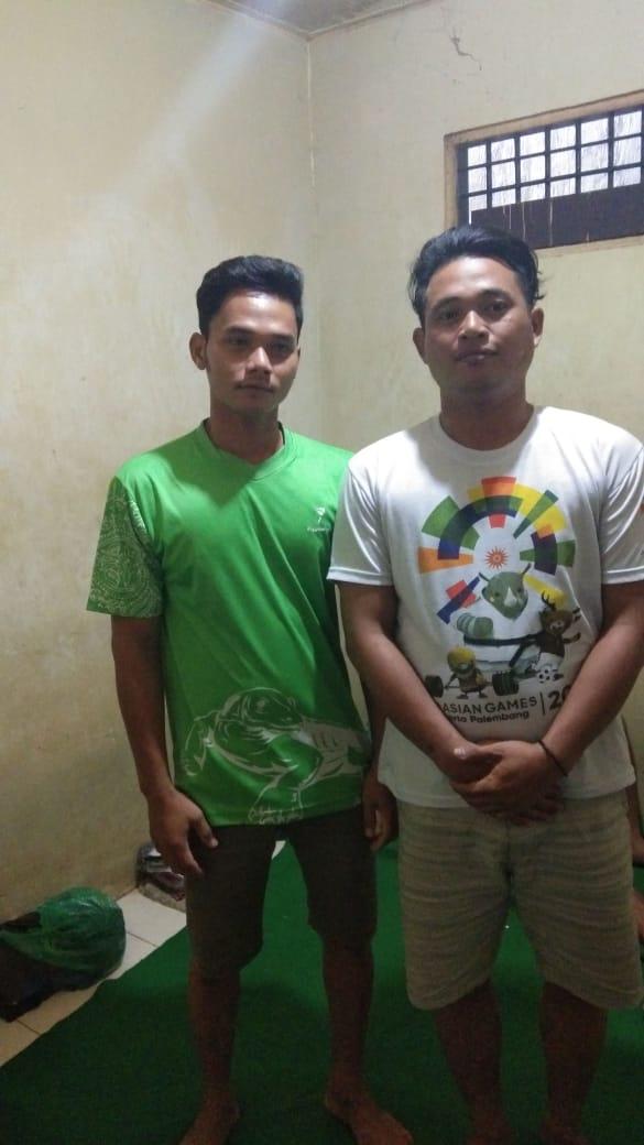 Ompong  dan Ancis Gelapkan Batang Kawat Berujung Meringkuk di Tahanan
