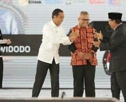 Akhir Debat Keduanya Janji Jaga Persahabatan, Probowo Ingatkan Jokowi ABS