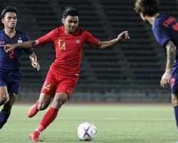 Timnas U-23 Digunduli Thailand 0-4