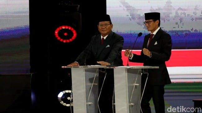 Bila Terpilih, Prabowo-Sandi Janji Tak Ambil Gaji