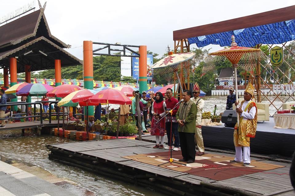 Festival Sungai dan Jukung Bungas Diyakini Mampu Sedot Wisatawan