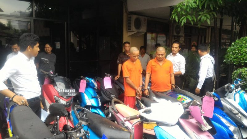 WAO Dalam Tempo Dua Bulan Paman Ajak Ponakannya Gasak 9 Unit Motor