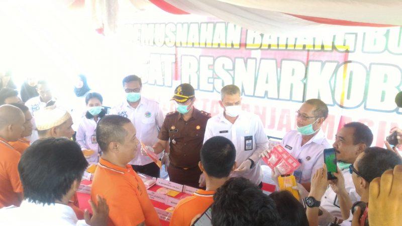 Pertama di Kalsel Ribuan Obat Terlarang dan 352 Ekstasi Dimusnahkan dengan Alat Incinerator Milik RS Ansari Saleh, Inilah Alasannya