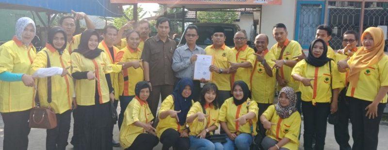 Aksi Penandatanganan Penolakan Pertambangan Dilakukan DPD Partai Berkarya HST dan Calegnya