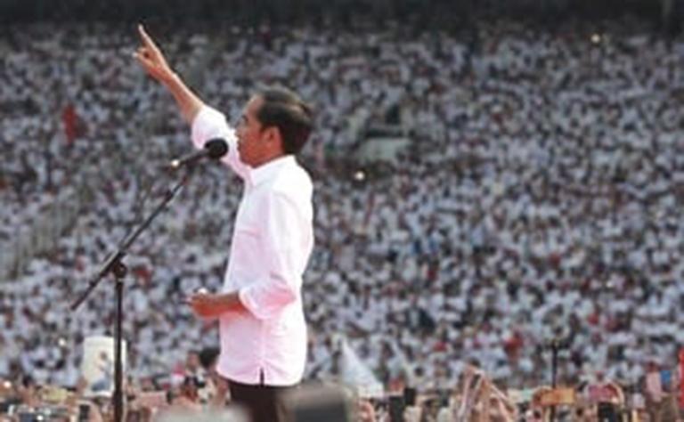Kampanye Akbar di GBK, Jokowi: Indonesia Tak akan Bubar,