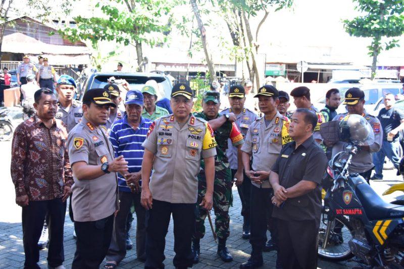 Kapolda Kalsel Cek Pengamanan Logistik Pemilu di KPU dan Sambangi PPK Banjarmasin