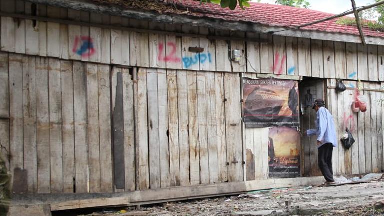 Pedagang Pasar Kapuk Dukung Pembangunan Depo Arsip