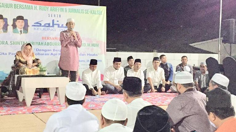 Hj Shinta Nuriyah Ajak Rajut Kembali Tali Persaudaran
