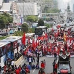 AKSI BURUH-MAHASISWA Bertajuk 'Indonesia Memanggil' Berisi 7 Tuntutan Plus 1 Tambahan
