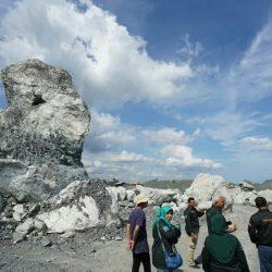 TIM Penilai Internasional Geopark Temukan Batuan Langka di Kalsel
