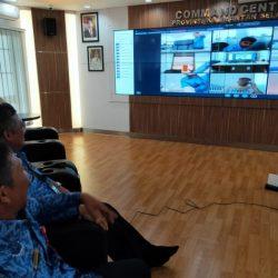 COMMAN CENTER Diskominfo Fasilitasi Rapat dengan Semua Kementerian / Lembaga se Indonesia