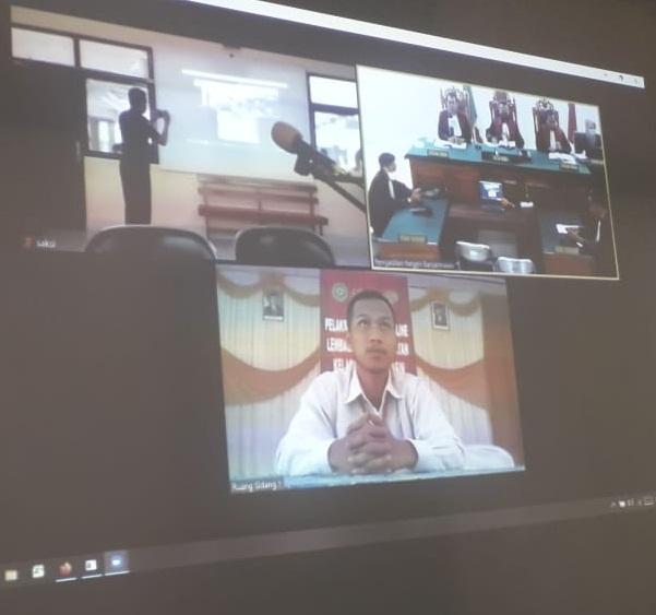 DI TENGAH Covid-19, Persidangan di PN Banjarmasin Terus Berjalan dengan Cara Telekonference