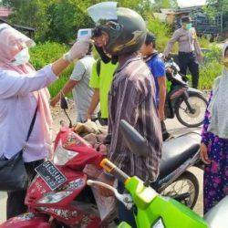 POSKO Keamanan dan Pemeriksaan Pengguna Transportasi