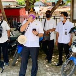TANPA Masker, Masih Ditemukan Pedagang dan Pembeli di Pasar Banjarmasin
