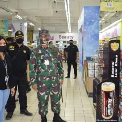 PASTIKAN Protokol Kesehatan Diterapkan, Dandim 1007 Pantau Duta Mall