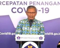 KASUS Baru Positif COVID-19 di Indonesia Bertambah 1.385, Kalsel 54